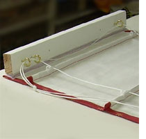 How To Make A Roman Blind
