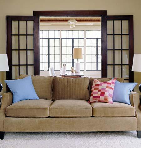 Home Dzine Home Decor One Sofa 3 Colour Combinations