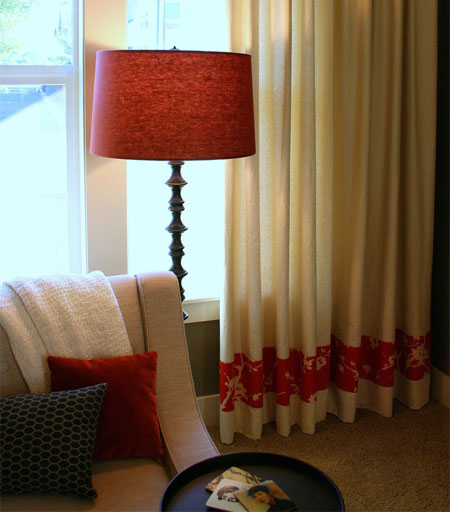 Home Dzine Home Decor Add Trim To Plain Curtains