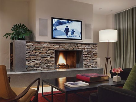 HOME DZINE Home Decor | Is the TV a focal point in your home?