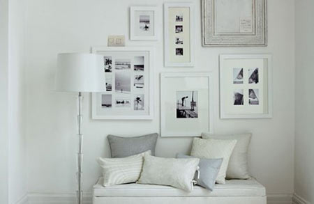 HOME DZINE | Decorating in white
