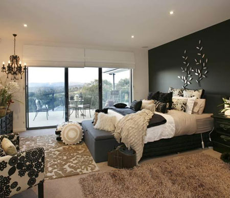 Home dzine bedrooms get your bedroom ready for winter - Winter bedroom decor ...