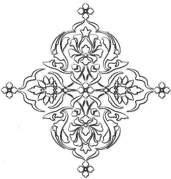 Wall Stencil Pattern Download : Home dzine za decorating a damask stencil