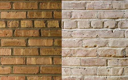 Home Dzine How To Paint Face Brick Walls