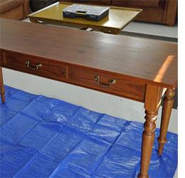 Add Silver Leaf To Gild Furniture