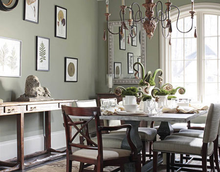 Grey Is The New Beige Traditional Cottage Country Brown ABOVE In A Sunny North Facing Dining Room