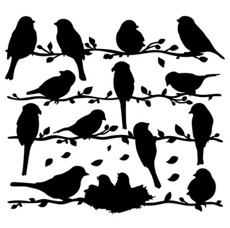 Free bird template for Bird templates to cut out
