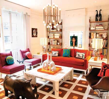 Home Dzine Decorating With Orange