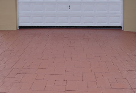 Paint Concrete Brick Pavers Paving Driveway