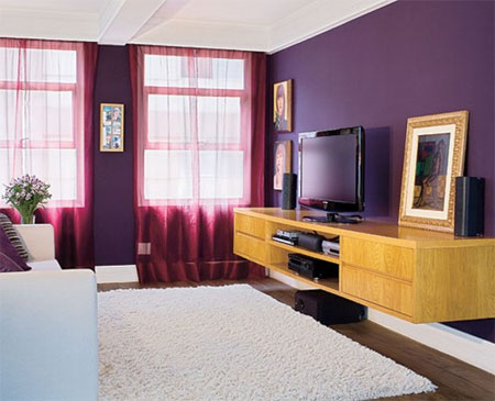 Home Dzine Paint Your In Shades Of Purple