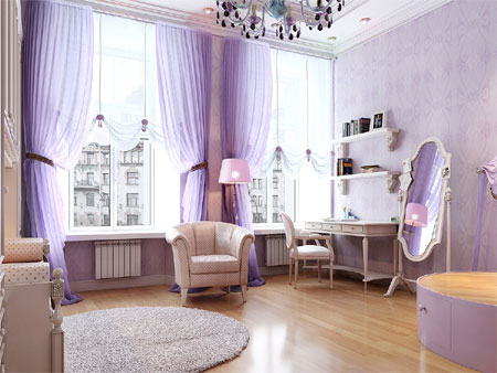 Decorating  House on Home Dzine   Paint Your Home In Shades Of Purple