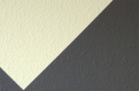 Paint Stripes On Textured Walls