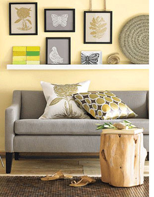 Home Dzine Decorating With Yellow