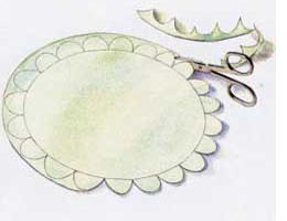 Decorative felt placemats