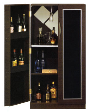 Home dzine home diy make a wine cabinet or bar Home dezine