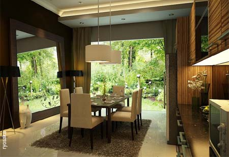 Home Dzine Home Decor Open Plan Dining Room Inspiration