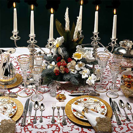 HOME DZINE Home Decor   Set a table for entertaining