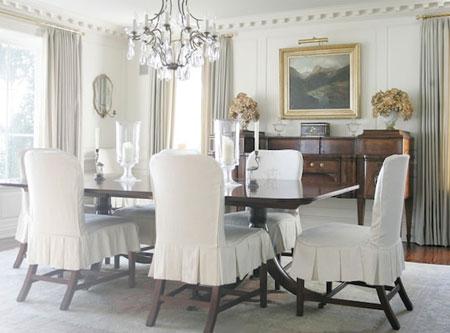 Circular dining room