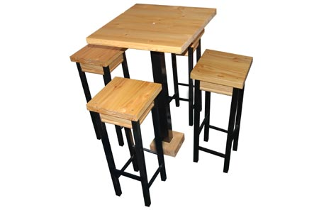 ... These Sets In Various Stores And Was Quite Amazed At How Expensive They  Can Be. As A Do It Yourself Project You Can Easily Make The Pub Table And  Stools ...