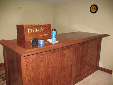 HOME DZINE Home DIY | Build an indoor bar