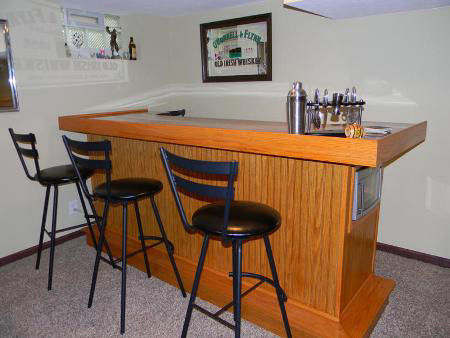 Home dzine home diy build an indoor bar for Diy home bar designs