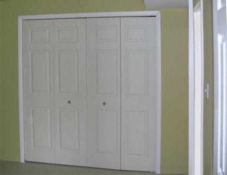 Home Dzine Home Improvement Install Bi Fold Closet Doors