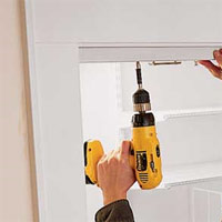 Home Dzine Bedrooms Install Bi Fold Doors On A Closet