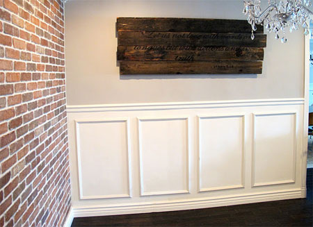 Home Dzine Home Diy The Easy Way To Install Panelling