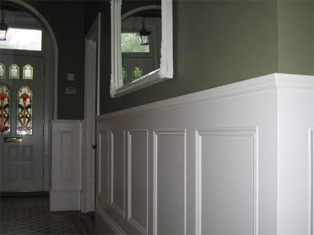 HOME DZINE Home Improvement Add Panelling To A