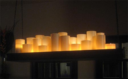 Home-Dzine - Make a candle holder chandelier