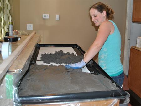Home Dzine Home Improvement Concrete Countertops