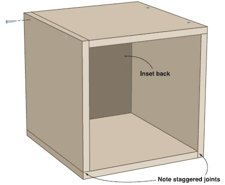 How to build storage cubes plans diy free download outdoor wooden bench plans woodwork knife - Wooden cube house plans ...