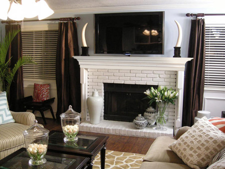 Home Dzine Home Diy Make A Simple Fireplace Surround