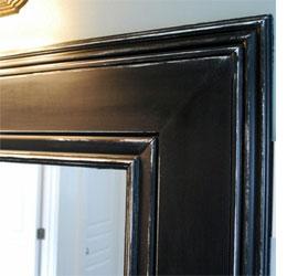 home dzine bathrooms frame a bathroom mirror
