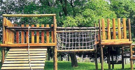 home dzine home diy  build a jungle gym