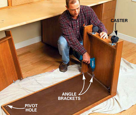 Build A Home Office Desk And Storage