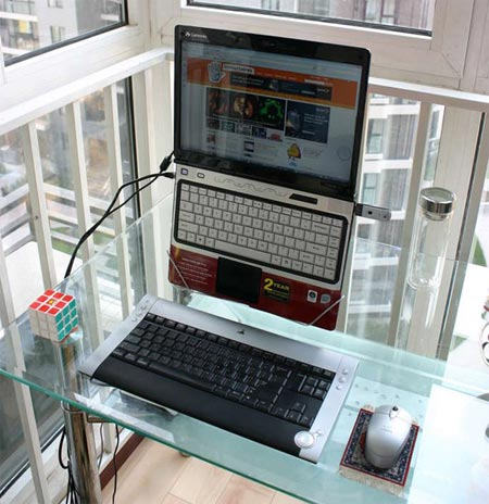 Home Dzine Home Office Hip Hanging Laptop Stand Made