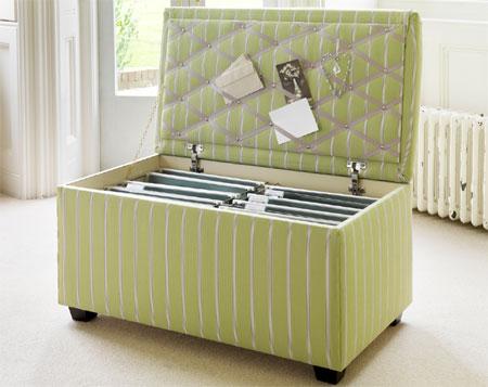 Home Dzine Home Diy Make An Upholstered Ottoman