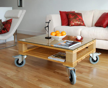 pallet furniture from mobius living