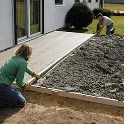 DIY concrete patio on Diy Concrete Patio Ideas id=71893