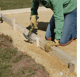 HOME DZINE Home DIY | How to lay a DIY concrete patio