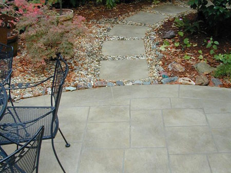 Lovely How To Lay A DIY Concrete Patio