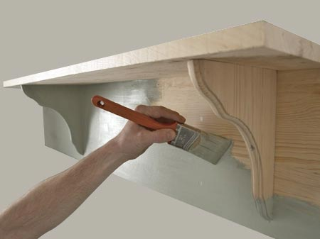building wood shelf brackets | Woodworking Magazine Online