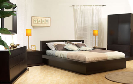 ... your bedroom with a stylish platform bed that you can make in a day