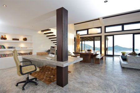 Home dzine home diy polished concrete floors - Concrete floors in house ...