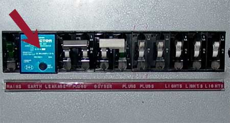 Power on circuit breaker wiring diagram