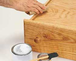 how to fix a bottom of the drawer