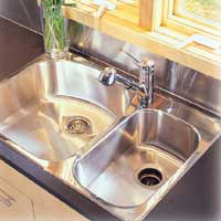 HOME DZINE Home DIY Install A New Sink And Kitchen Tap Faucet