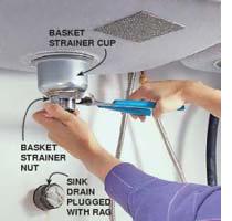 Home Dzine Kitchen Install A New Kitchen Sink