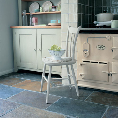 Home Dzine Home Diy Lay A Slate Tile Floor Or Wall
